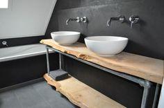 Steigerbuis in de Badkamer & Toilet - Voorbeelden