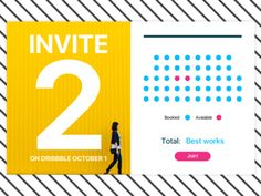 2 Dribbble Invites To Give  Away