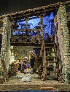 1 million+ Stunning Free Images to Use Anywhere Christmas Crib Ideas, Church Christmas Decorations, Christmas Village Sets, Christmas Nativity Set, Beaded Christmas Ornaments, Christmas Villages, Christmas Wood, A Christmas Story, Christmas Holidays