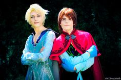 Anna and Elsa Genderswap Cosplay, Frozen by hakucosplay.deviantart.com on @DeviantArt