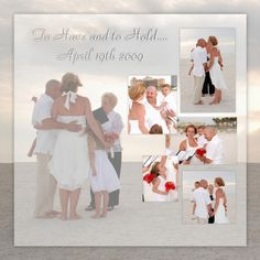10 year wedding vow renewal on the beach