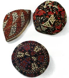 Мужская тюбетейка. Йомуды. Turkmen.