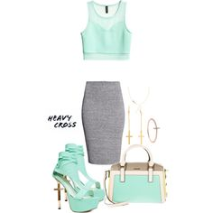 """""""HeavyCross"""" by prettysexiness on Polyvore"""