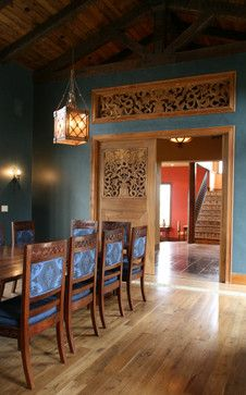 Moorish Room | Moorish Wine Country Hilltop Retreat mediterranean dining room