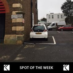 Private car parking space close to sea front for just £7/day. Book our 'Spot of the Week'!