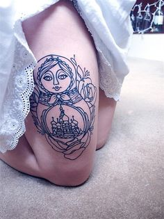 I've always wanted a Russian doll tattoo