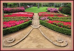 Butterfly Garden... I'm going to have Kevin do this in the backyard.. lol ;-)