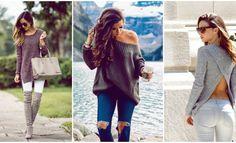 7 formas de combinar tu suéter para verte guapísima - Yo amo los zapatos