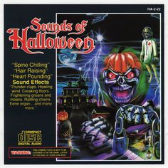 Madacy Entertainment Group - More Sounds Of Halloween Halloween Sounds, Halloween Birthday, Birthday Fun, Halloween Fun, Spooky Music, Scary Sounds, Hair Raising, Halloween Pictures, Sound Effects