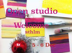 Open Studio 4-6 Dec. Welcome! : Alice Murray