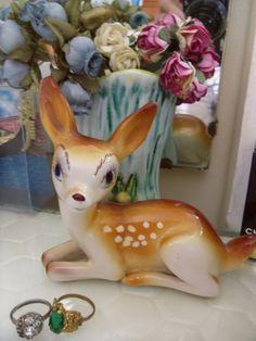 ..sweet vintage deer
