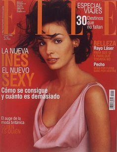 Elle Spain June 1998 - Ines Sastre