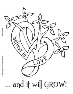 LUV 2 LRN Printable Page {English} | believe in love | Please Like √ Share√ Comment √ Tag √ and Pin it √