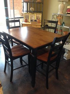 Pub Table 4 Stools Our Home Pinterest Tables And