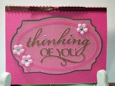 Lacy Labels card