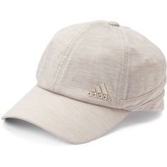 Women's Adidas Studio Relaxed Baseball Cap ($20) ❤ liked on Polyvore featuring accessories, hats, lt beige, adjustable hats, baseball hats, beige hat, ball cap hats and adidas