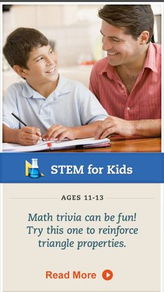 Challenge your tween with this #geometry trivia question. Click for details. #STEM