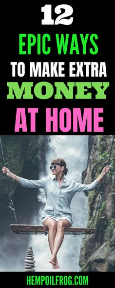 12 Epic Ways to Make Extra Money At Home - Looking for ideas to make extra money fast in your spare time doing simple tasks? Earn More Money, Money Fast, Make Money Blogging, Money Tips, Make Money Online, Legitimate Work From Home, Work From Home Jobs, Make Money From Home, Way To Make Money