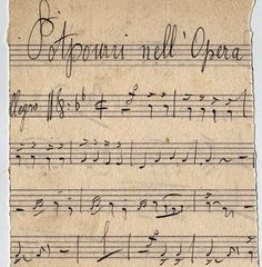 Awesome Antique Sheet Music – French Opera