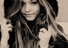 Sasha Pieterse -- I love PLL and think she's beautiful. She really makes the perfect Ali