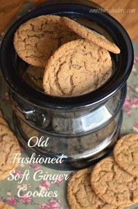 Old Fashioned Soft Ginger Cookies