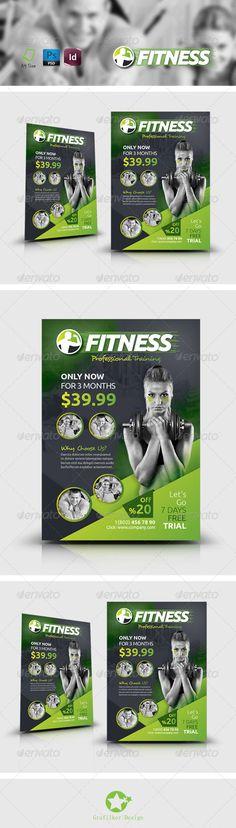 Fitness Salon Flyer Templates - Corporate Flyers