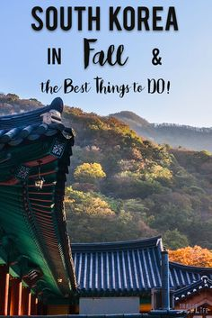 If you look up the best time to visit South Korea, fall is typically the answer that appears and for some very good reasons.