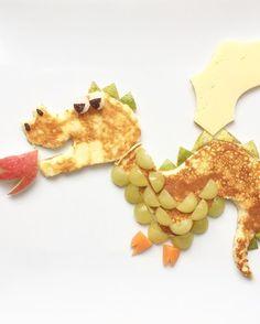 cute-pancakes-dragon