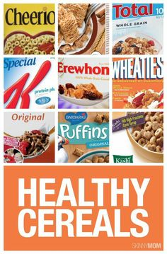If you're trying to lighten up your morning, try one of these healthy cereals.