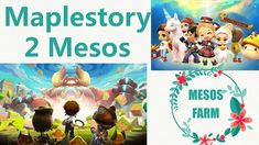 9 Ways Farming Maplestory 2 Mesos in 2019 minutes ONLY) Maplestory 2, Farming Guide, Level Up, How To Get Rich, Make It Yourself, Character, Lettering