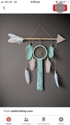 Next Post Previous Post Arrow nursery dream catcher/ large baby mobile/ Large arrow wall hanging/ Baby shower gift Pfeil Kinderzimmer. Cool Baby, Dream Catcher Nursery, Diy Dream Catcher For Kids, Dream Catcher Craft, Dream Catcher Mobile, Large Dream Catcher, Handmade Dream Catcher, Beautiful Dream Catchers, Dream Catcher Boho