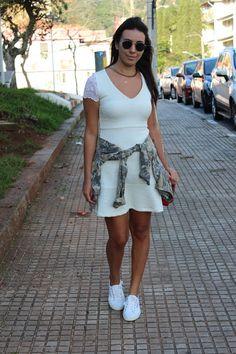 Nanda Pezzi - Tênis branco - Superga