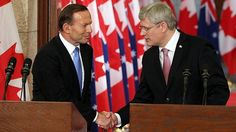 Climate unity dealt blow as Australia and Canada put business first << Harper and Abbott, cut from the same cloth made on an old damaged loom. Environmental Studies, Tony Abbott, Love Affair, Climate Change, Unity, Politics, Canada, Australia, Business
