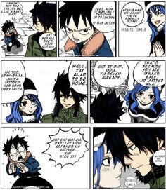 And then on the next page it turns out this was another of Juvia's fantasies... I do love this ship, though
