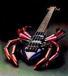 Spider guitar