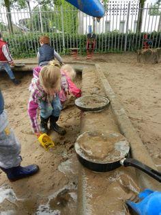 Koken in de zandbak
