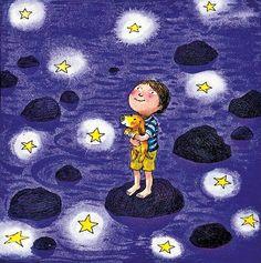幾米長城 - 最暗的夜,才能看見最美的星光,人生也是如此。