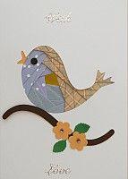 Iris Fold Bird