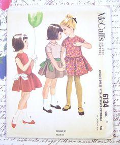 McCalls 6134 Helen Lee Girls Dress