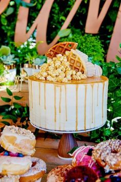 Just Jared's Picnic Birthday Party Taupe Food
