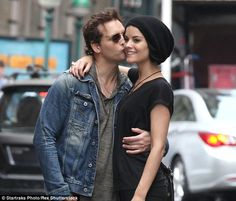 Love is in the air! Peter Facinelli kissed his bride-to-be in New York in May...