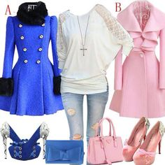 Pink or blue... I like it!