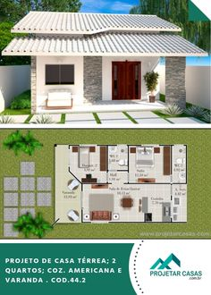 Best 11 Sarai Perez's media content and analytics – SkillOfKing. A Frame House Plans, 2 Bedroom House Plans, Small House Plans, House Floor Plans, Beautiful House Plans, Small Space Interior Design, Simple House Design, House Blueprints, Sims House