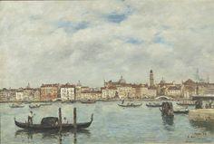 Venise. Quai des esclavons par Louis-Eugène Boudin © RMN-Grand Palais (musée d'Orsay)