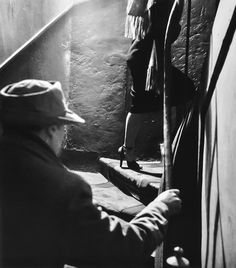 The Stairway, 1952. Photographed by Robert Doisneau.