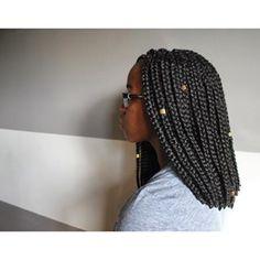 box braids bob - Gorgeous
