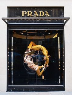 """PRADA, Paris, France, """"The Perfect Earth"""", The Iconoclasts by Milena Canonero, pinned by Ton van der Veer"""