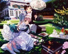 Gosick LN illustrator Hinata Takeda passed away in January of. Sad Anime Girl, All Anime, Manga Anime, Anime Art, Anime Boys, Hinata, Kawaii Anime, Gosick Victorique, Koi