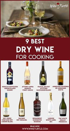 Are you looking for a good dry white wine for cooking to use in your food recipes? Do you want to take your cooking to the next level and create flavorsome dinners? There are plenty of white wines you can use for cooking that will not break the bank. Best Red Wine, Dry Red Wine, Dry White Wine, Types Of White Wine, Types Of Wine, Wine Chart, Chenin Blanc, Cooking Wine, Wine Food