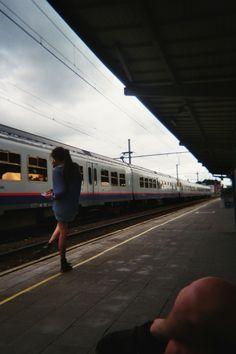 train station Trains, Train Station, Sweet Dreams, Places, Life, Transportation, Freedom, Girls, Beauty